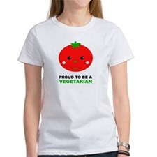 Proud To Be A Vegetarian Tee