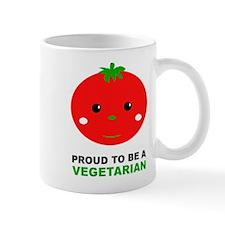 Proud To Be A Vegetarian Mug