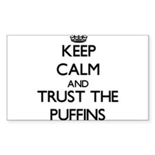 Keep calm and Trust the Puffins Decal