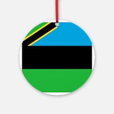 Flag of Zanzibar Ornament (Round)