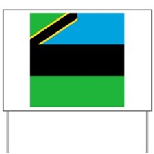 Flag of Zanzibar Yard Sign