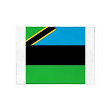 Flag of Zanzibar 5'x7'Area Rug