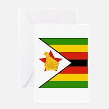 Flag of Zimbabwe Greeting Cards