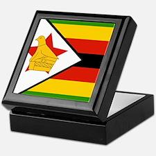 Flag of Zimbabwe Keepsake Box