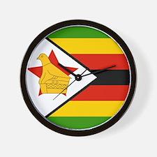 Flag of Zimbabwe Wall Clock