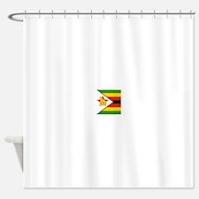 Flag of Zimbabwe Shower Curtain