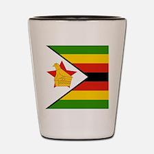 Flag of Zimbabwe Shot Glass