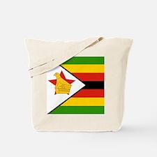 Flag of Zimbabwe Tote Bag