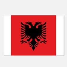 Flag of Albania Postcards (Package of 8)