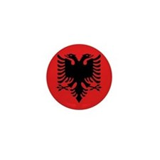 Flag of Albania Mini Button