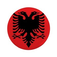 """Flag of Albania 3.5"""" Button (100 pack)"""