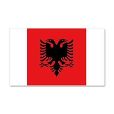 Flag of Albania Car Magnet 20 x 12