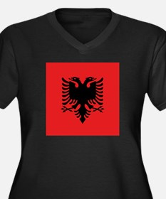 Flag of Albania Plus Size T-Shirt