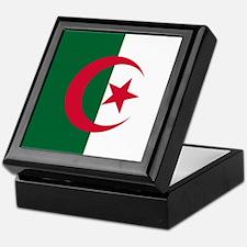 Flag of Algeria Keepsake Box