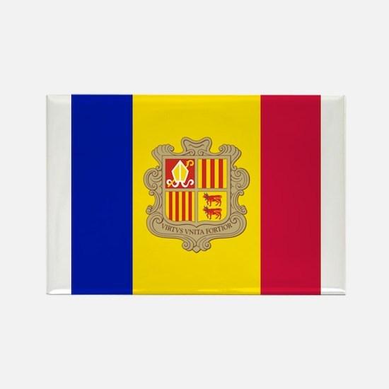 Flag of Andorra Magnets