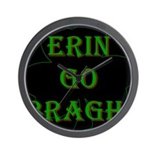 Erin Go Bragh #3 Wall Clock