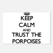 Keep calm and Trust the Porpoises Postcards (Packa