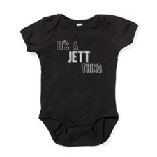 Its A Jett Thing Baby Bodysuit