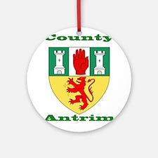 County Antrim COA Ornament (Round)