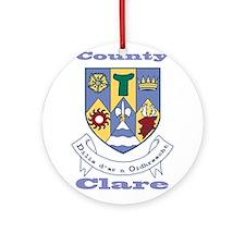 County Clare COA Ornament (Round)