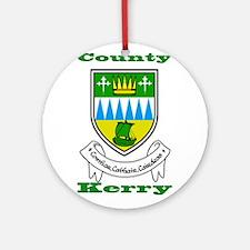 County Kerry COA Ornament (Round)