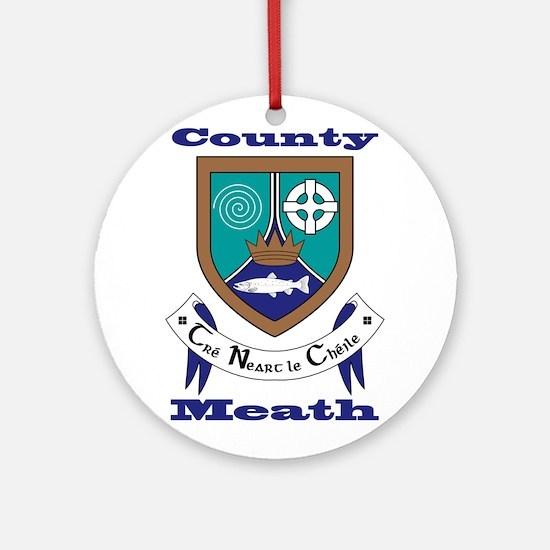 County Meath COA Ornament (Round)