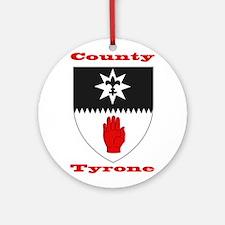 County Tyrone COA Ornament (Round)