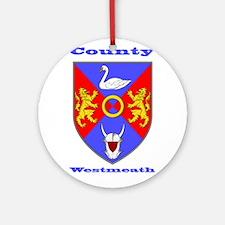 County Westmeath COA Ornament (Round)