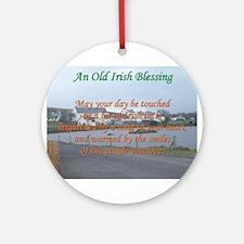 Old Irish Blessing #4 Ornament (Round)