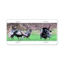Wild turkey Aluminum License Plate