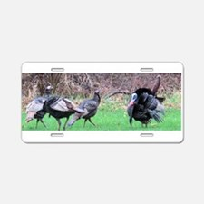 Wild turkey Aluminum License Plate