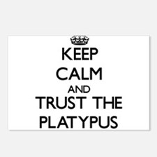Keep calm and Trust the Platypus Postcards (Packag