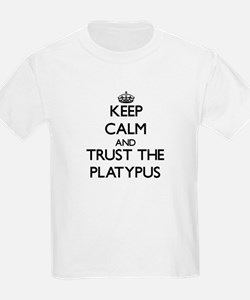 Keep calm and Trust the Platypus T-Shirt