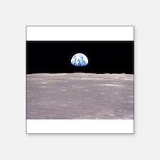 Earthrise from Apollo 11 Moon Landing Sticker