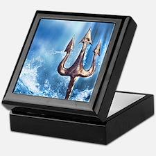 Poseidons Trident Keepsake Box
