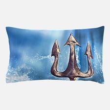 Poseidons Trident Pillow Case