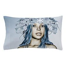 Christmas Snow Maiden Pillow Case