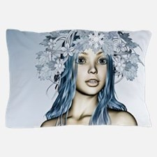 Christmas Snow Maiden Pillow Case