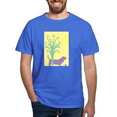 Basset Hound Tree & Ball T-Shirt