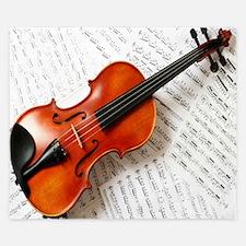 Violin Musician King Duvet