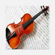 Violin Musician Queen Duvet