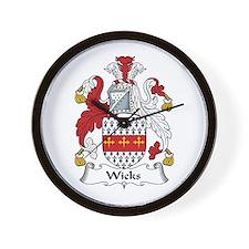 Wicks Wall Clock