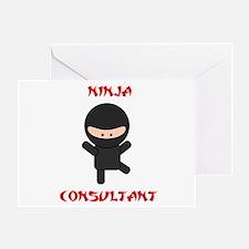 Ninja Consultant Greeting Card