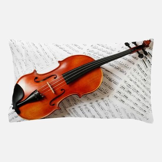 Violin Musician Pillow Case