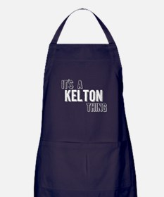 Its A Kelton Thing Apron (dark)