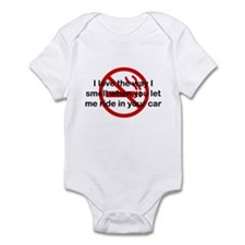 The Way I Smell In Your Car Infant Bodysuit