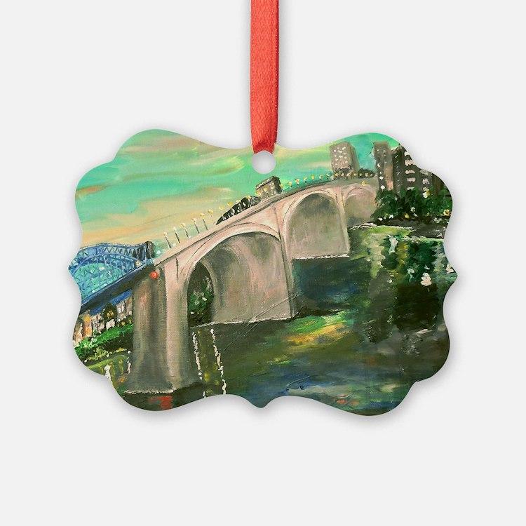 Chattanooga Skyline Ornament