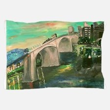 Chattanooga Skyline Pillow Case