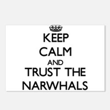 Keep calm and Trust the Narwhals Postcards (Packag