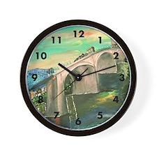 Chattanooga Skyline Wall Clock